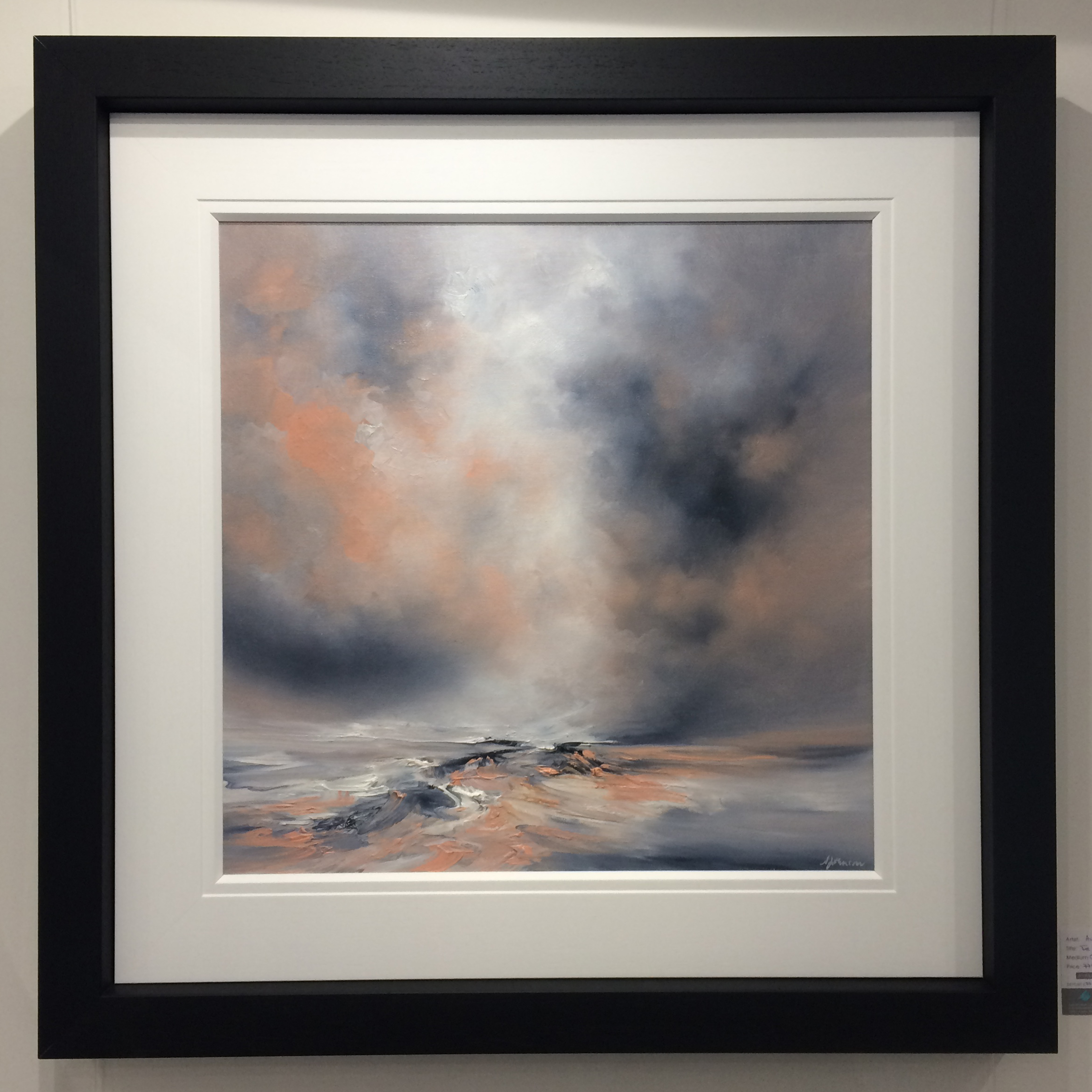 The Light Burst by Alison Johnson