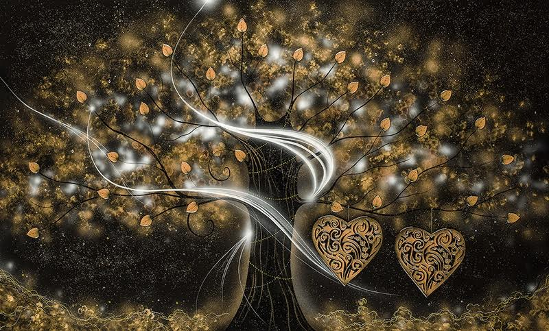The Power of Love Gold - Large by Kealey Farmer