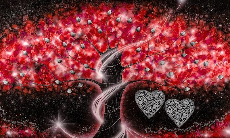 The Power of Love Red - Large by Kealey Farmer