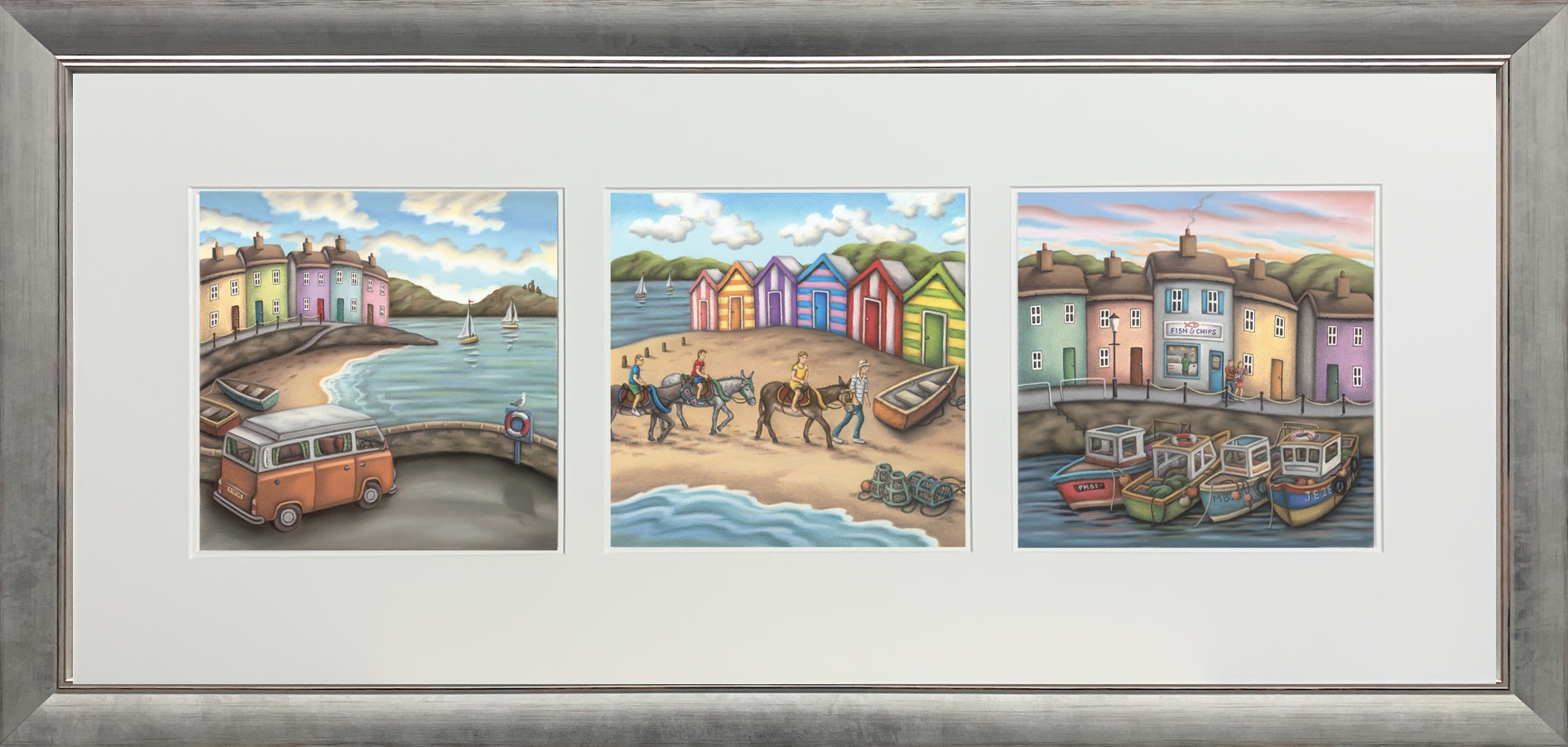 The Seaside Suite- Landscape by Paul Horton
