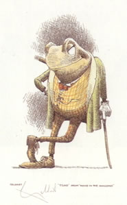 Toad - Wind In The Willows by William Geldart