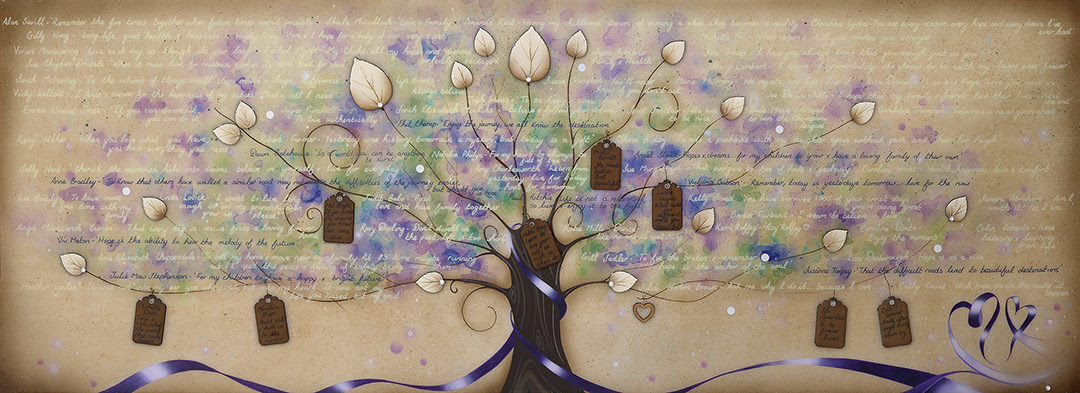 Tree of Hopes and Dreams - Can be Personalised by Kealey Farmer