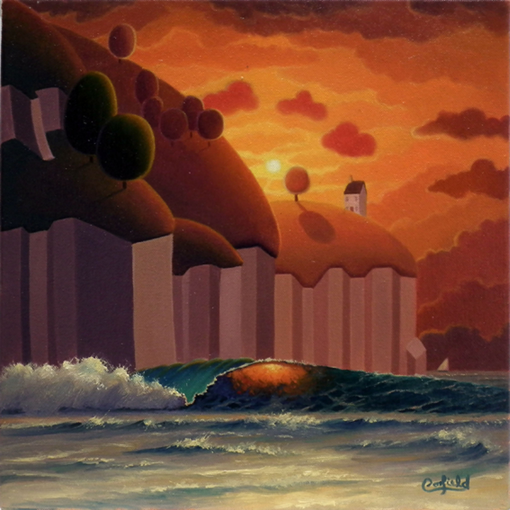Untitled Study No. 130 by Paul Corfield