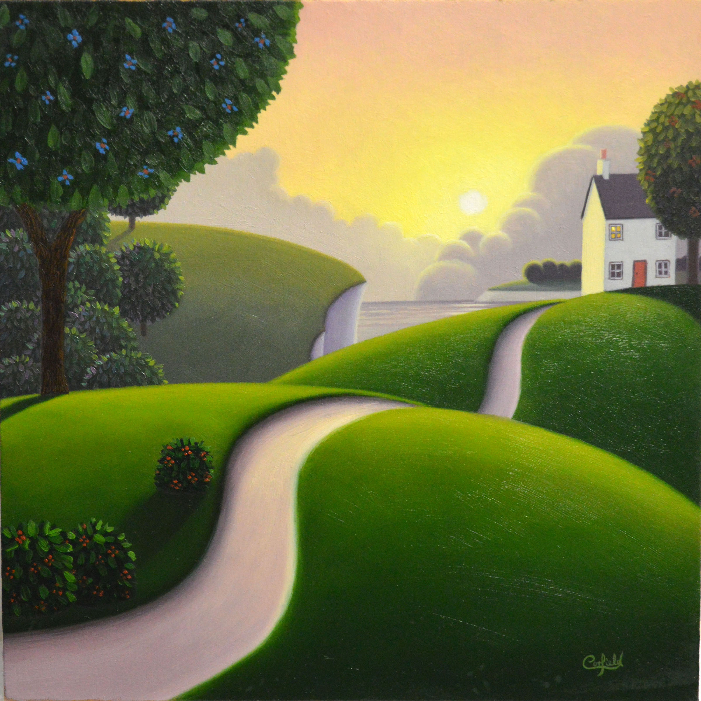 Untitled Study No 174 by Paul Corfield