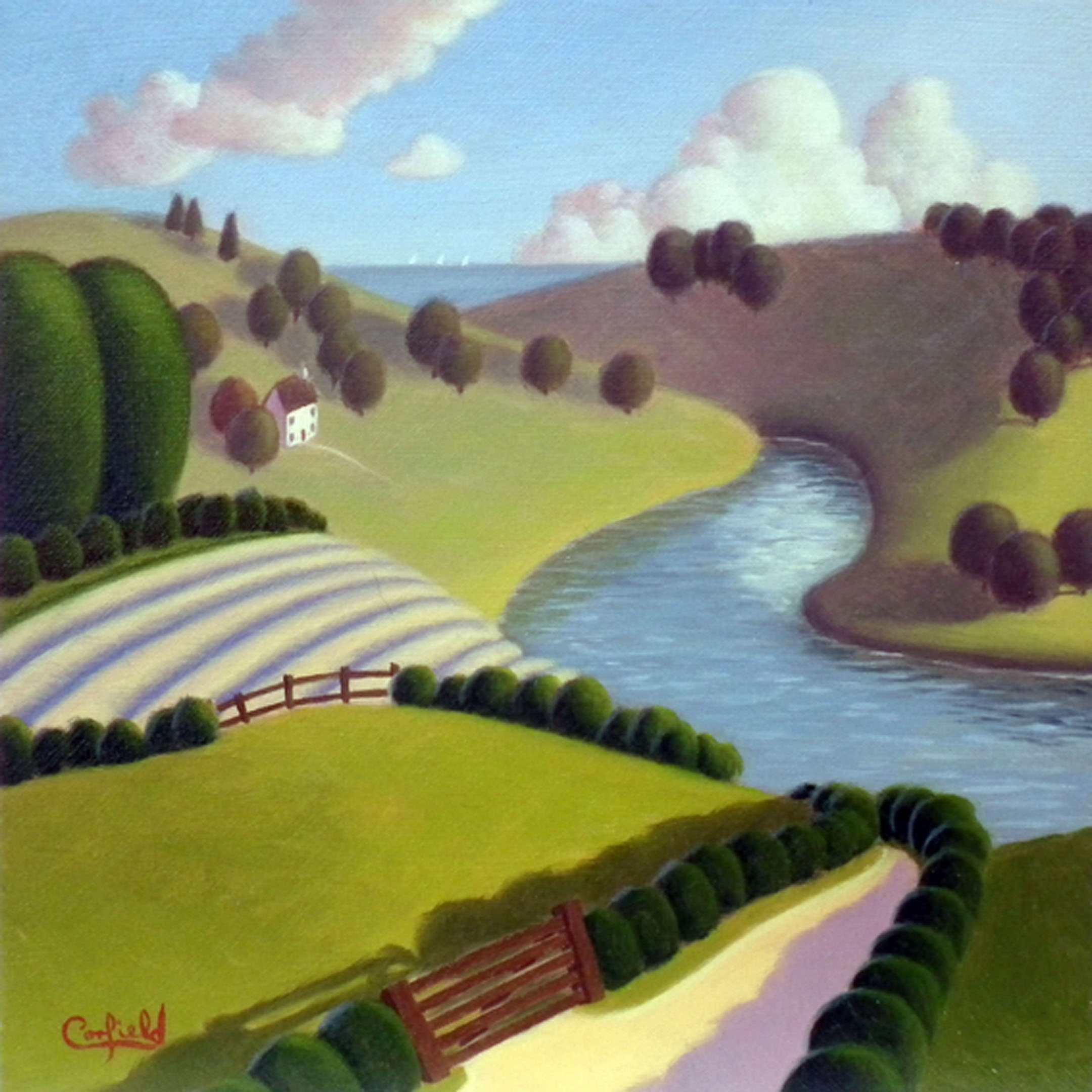 Untitled Study No 73 by Paul Corfield