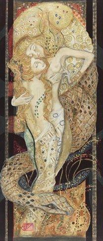 Water Serpent I by Joy Kirton Smith