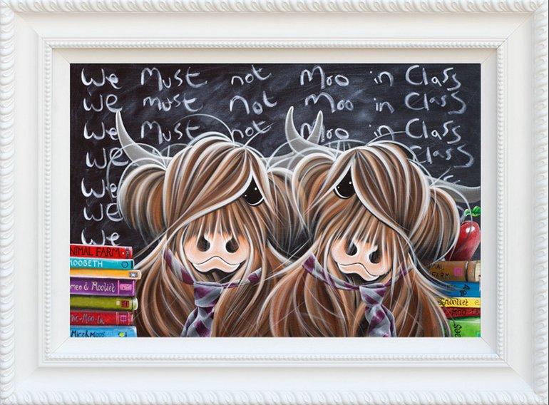 We Must Not Moo In Class by Jennifer Hogwood