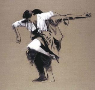 White Linen by Robert Heindel