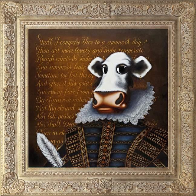 William Shakespeare by Caroline Shotton