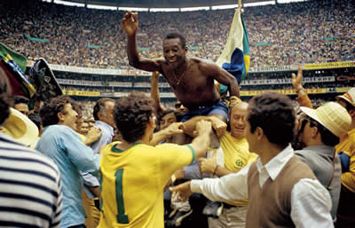 World Cup Victory, 1970 by Pele