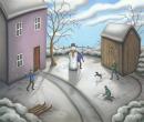 A Snowman's Story by Paul Horton