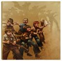 Guns of the Magnificent Seven - Box Canvas