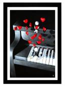 Our Love Song - High Gloss with 3D Elements by Mark Grieves