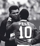 Pele & Ali (Muhammad Ali)