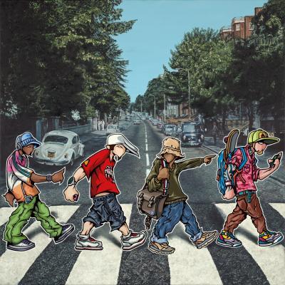 A B-boy Road