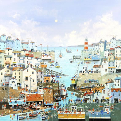 A Sunny Sunday Harbour