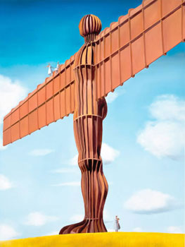 Angel Of The North - Canvas