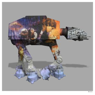 At At - Small by Monica Vincent