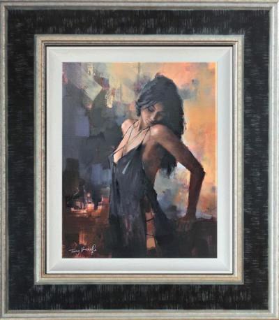 Aubergine Nights- Canvas
