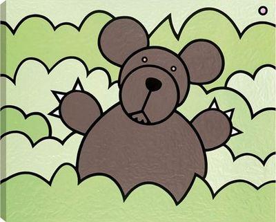 Bear In Bush