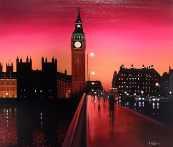 Big Ben Sunset (Original)