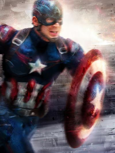 Captain America - I Can Do This All Day - Large
