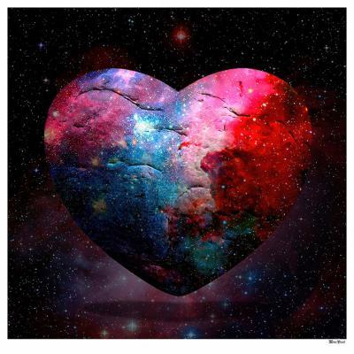 Cosmic Heart- Large