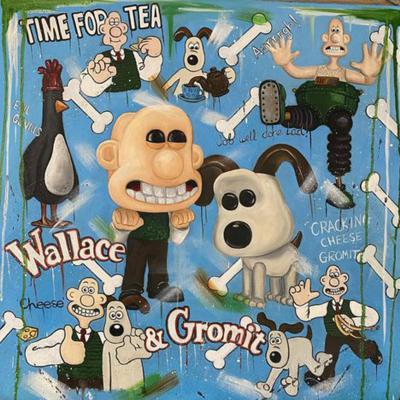 Cracking Cheese Gromit