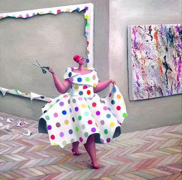 Damien's Dress - Canvas