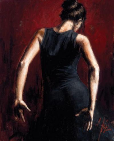 El Baile De Flamenco in Rojo II