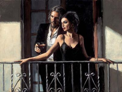 Fabian & Lucy At Balcony ii