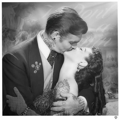 Frankly my dear- White Frame