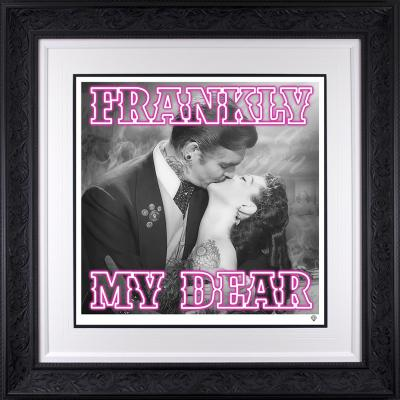 Frankly my dear.. Glass Embellishment Special Edition