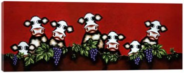 Herd On The Grape Vine