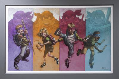 Heroes In Half A Shell - Canvas
