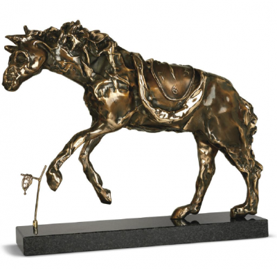 Horse Sadled With Time