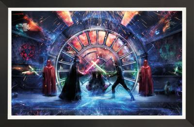 Join me (The Return of the Jedi)- Embellished Canvas