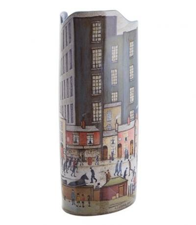 Lowry Coming From The Mill - Vase