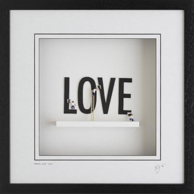 Making Love - Wall Sculpture