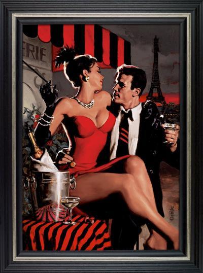 Midnight In Paris- Canvas