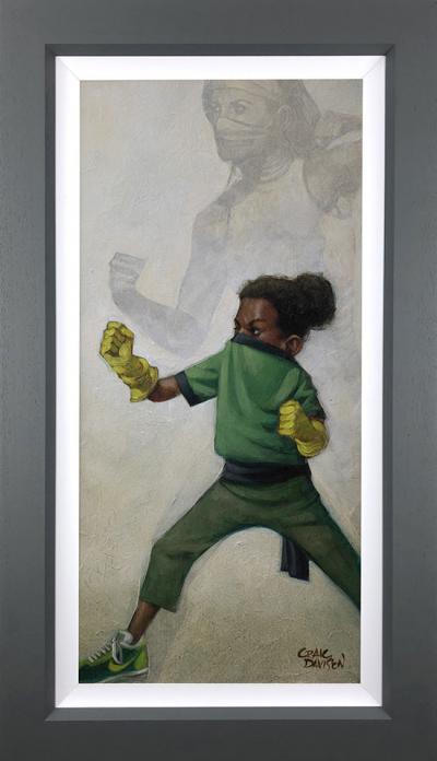 Minimal Kombat - Canvas