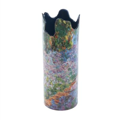 Monet Irises in Garden - Vase