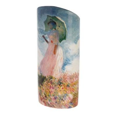 Monet Woman With A Parasol - Vase