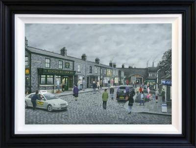 On The Cobbles- Deluxe Canvas