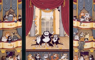 O'Sole Meow (Triptych)