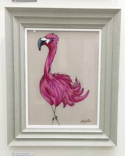 Pippa The Flamingo
