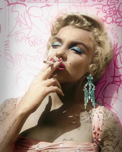 Smoking Gun- Marilyn