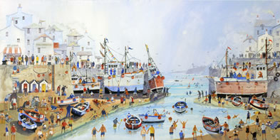 Summer Harbour
