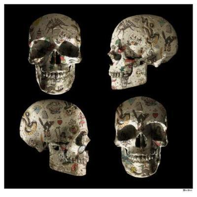 Tattooed Skulls - Large