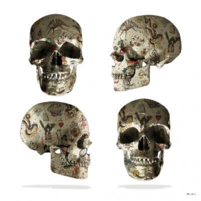 Tattooed Skulls - Small